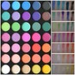 35B - 35 COLOR COLOR GLAM EYESHADOW PALETTE - Morphe Brushes