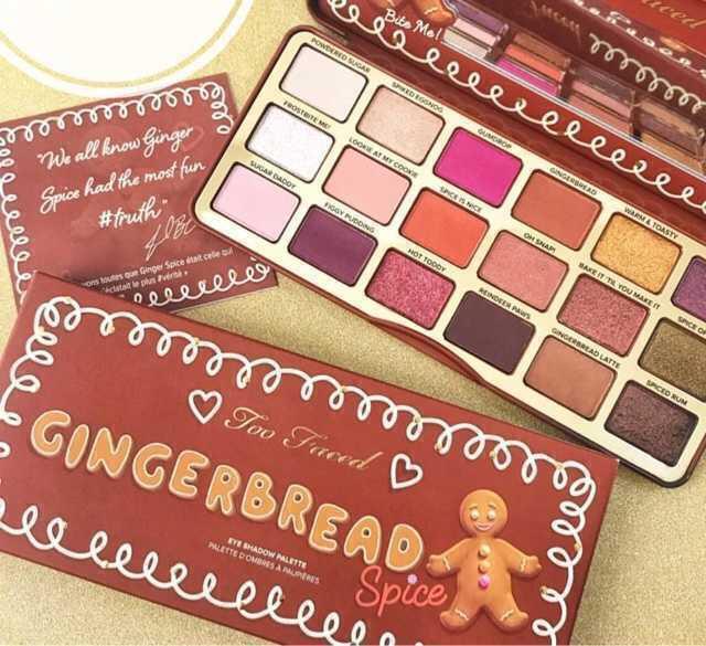 Gingerbread Spice Eye Shadow Palette Too Faced Penélope Vaidosa