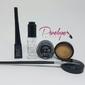 Kit Promocional: Duraline+Delineador em gel+Delineador líquido+Base de Sombras+Pincel Delineado