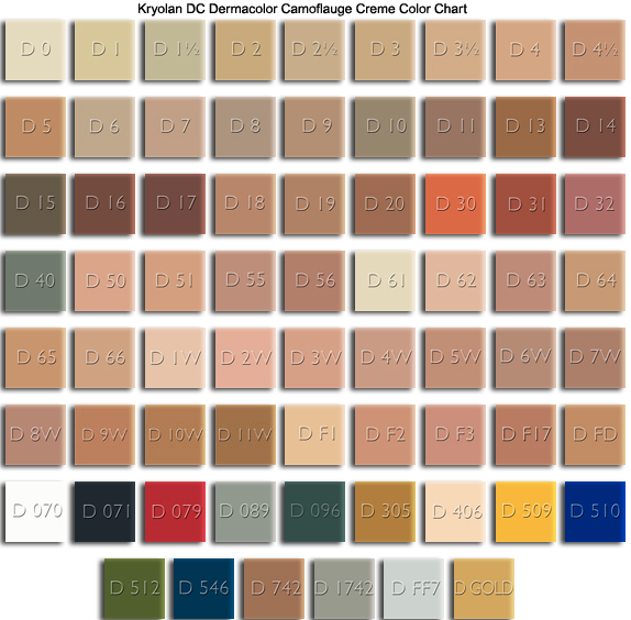 Refil Kryolan Dermacolor Camouflage System Penlope Vaidosa