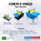 Corte e Vinco 40cm Slim Manual