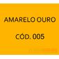 Flocos de Nylon Amarelo Ouro / Po para flocagem - 0,5Kg