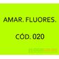 Flocos de Nylon Amarelo Fluorescente / Po para flocagem - 0,5Kg