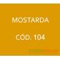 Flocos de Nylon Amarelo Mostarda / Po para flocagem - 0,5Kg