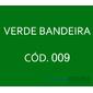 Flocos de Nylon Verde Bandeira / Po para flocagem - 0,5Kg