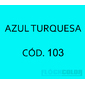 Flocos de Nylon Azul Turquesa / Po para flocagem - 0,5Kg