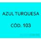 Flocos de Nylon Az. Turquesa / Po para flocagem - 1Kg