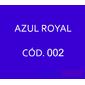 Flocos de Nylon Azul Royal / Po para flocagem - 0,5Kg
