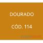 Flocos de Nylon Dourado / Po para flocagem - 1Kg