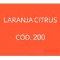 Flocos de Nylon Laranja Citrus / Po para flocagem - 1Kg