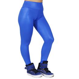 c56153994 Calça Legging Cirrê Brilhante - Azul Bic