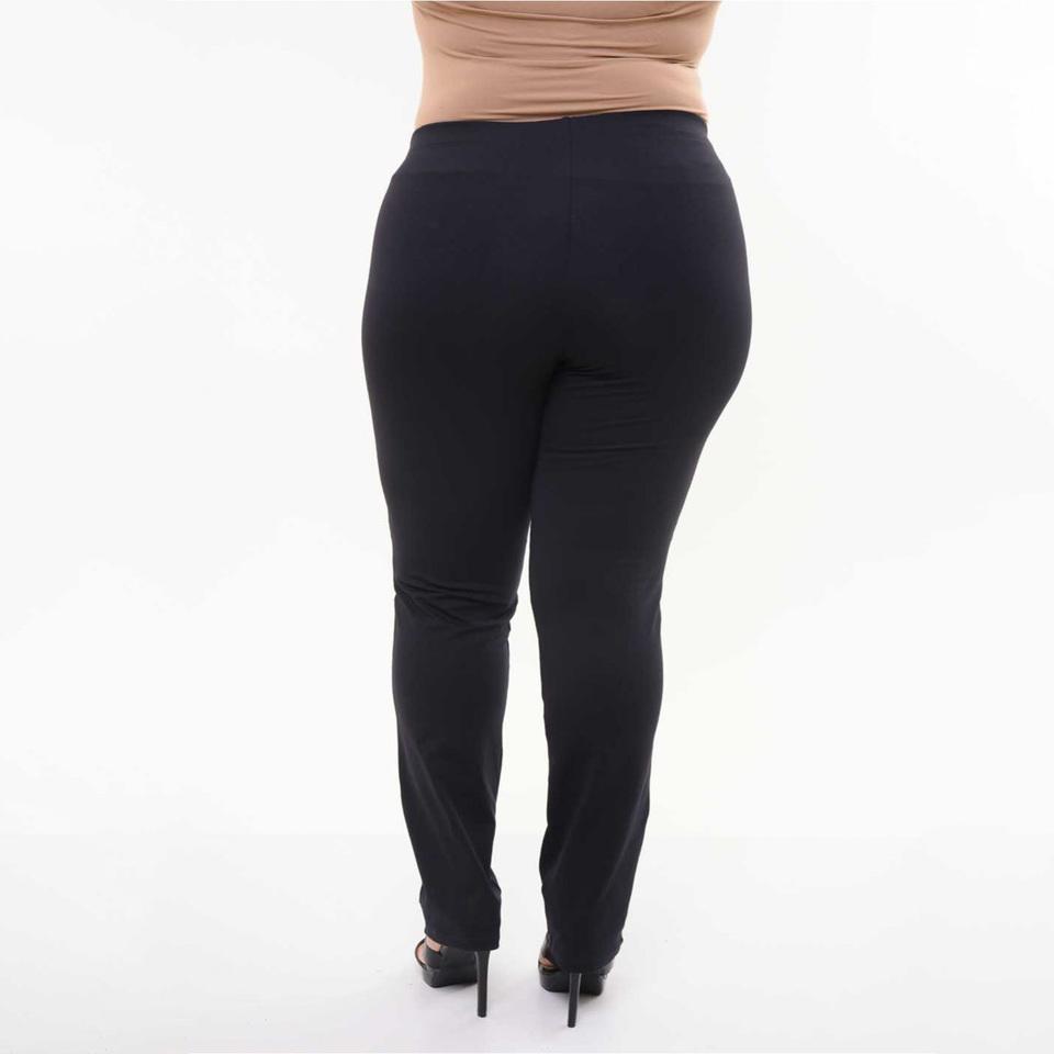 2f8dcdf4c Calça Bailarina Flare Plus Size - Preta - Beca Fit