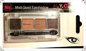 N.Y.C. Sombra Mod Quad Eyeshadow- Mod Quad  3.4g
