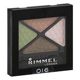 RIMMEL London GLAM'EYES QUAD sombra para os olhos Compact 016 URBAN FLOWER 4.2 g