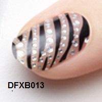 Dashing Diva Adesivos, Pelicula para Unhas Design Fx Bling Nail Appliqués, DFXB013 CATWALK