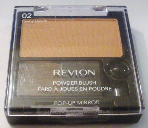 Blush compacto com Espelho, Matte Powder Blush, 51g, Tawny Peach 02 - Revlon