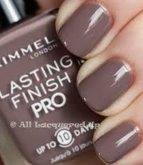 ESMALTE Rimmel London Lasting Finish Pro Nail Polish 13ml 270 Steel Gray