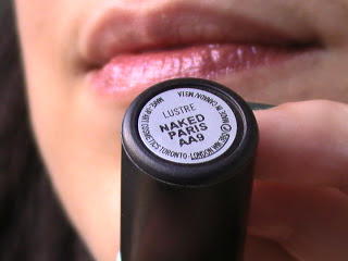 M.A.C Batom Lustre + Maked Paris AB12 Lipstick, 3g.
