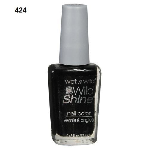 Wet n Wild  Esmalte para Unhas Wild Shine Nail Color 424A Black Creme