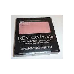 Blush compacto com Espelho, Matte Powder Blush, 51g, 003 Perfectly Peach - Revlon