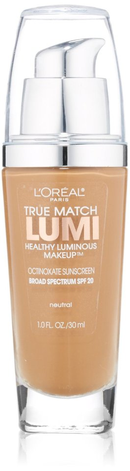Base Facial True Match Lumi Healthy Luminous, n7-8 Neutral, 30ml - L'Oreal Paris