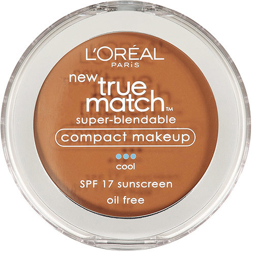 L'Oreal Paris Pó compacto Facial-True Match Super-Blendable- C6 oil free, Cool SPF17