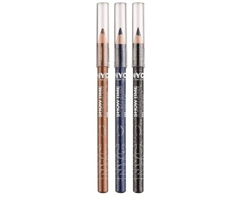 NYC Lápis Delineador para Olhos, Glitter  Eyeliner Pencil, Efeito Metalico 18cm