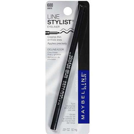 Lápis Delineador para Olhos, Line Stylist, 600 Onix- Maybelline