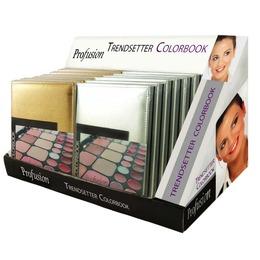 Profusion, Estojo de Sombra- Kit de Maquiagem Trendsetter Colorbook