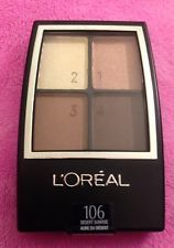 L'Oreal, sombra Paris Wear Infinite Eyeshadow Quad, 106 desert sunrise,4.8g.