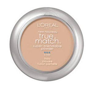 Pó compacto Facial-True Match Super-Blendable- C2 oil free, Cool SPF17 - L'Oreal Paris