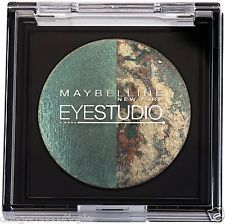 Maybelline sombra para os olhos Eyestudio Eyeshadow Duo, 70 Ivy Icon, 2.5g