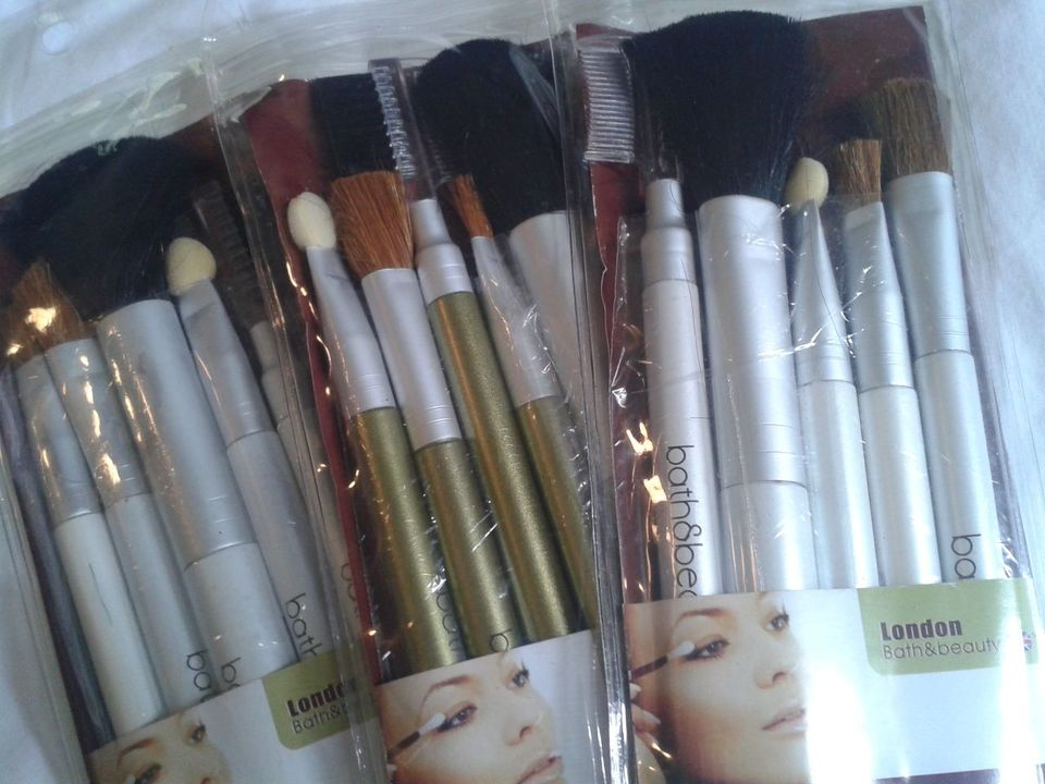 Kit Pincéis para Maquiagem - Cosmetic Brush Set - London Bath & Beauty