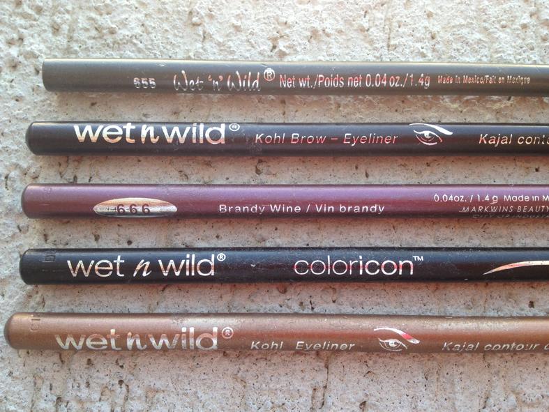 Wet n Wild, lapis para olhos e sobrancelhas marron C603A, 1.4g