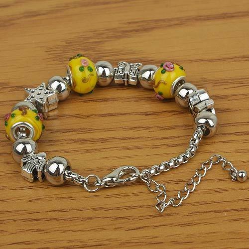 Pulseira ou Bracelete de Cobre colorida bijouteria