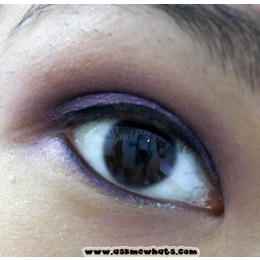 L'OREAL Sombra Wear Infinite EyeShadow Eye Shadow Quad  4.8g. 520 Eva's Violets