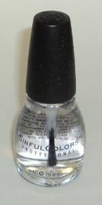 SinfulColors, Top coat, Clear Coat 1064