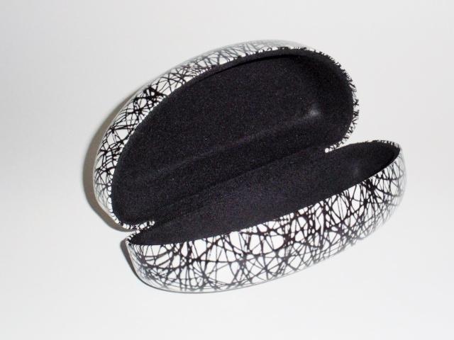 03f5d4d45c4dc ... Capa de Óculos de Sol para grande e extra grande com Desenho Preto e  fundo branco