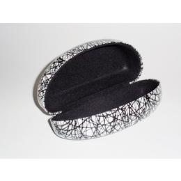 Capa de Óculos de Sol para grande e extra grande com Desenho  Preto e fundo branco