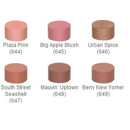 N.Y.C. Blush para a face,  BLUSHABLE CREME,  STICK BLUSH  SOUTH ST. SEASHELL 647U