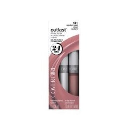COVERGIRL batom e brilho labial  Outlast All Day Two-Step , 581,  constant coral