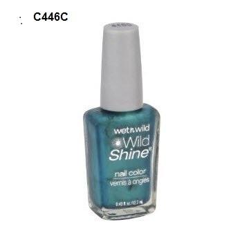 Wet n Wild  Esmalte para Unhas Wild Shine Nail C446C Cor verde