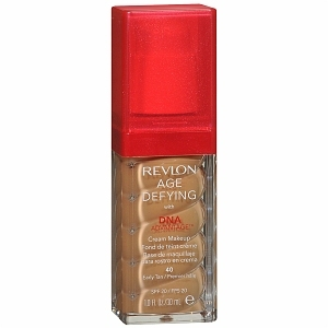 Revlon, Base Facial para o Rosto  em Creme  Age Defying 40 Early Tan 30ml