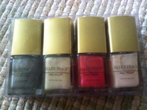 Ellen Tracy  Esmalte  de Unhas Collection, Set com 4 Diferentes cores, 12ml cada