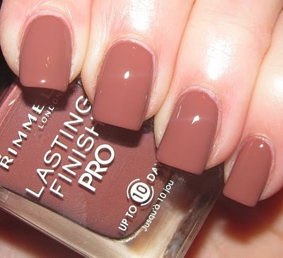 ESMALTE Rimmel London Lasting Finish Pro Nail Polish 13ml Hot Cocoa 230