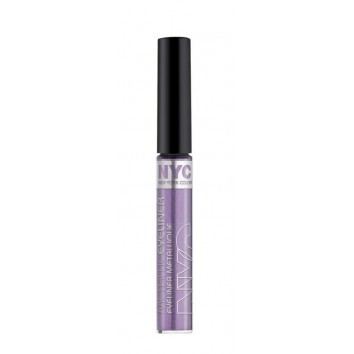 NYC metallic eyeliner 862 serpentine purple, 5ml