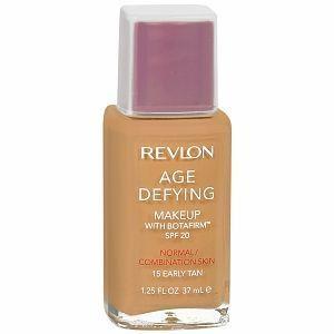 Revlon, Base Facial para o Rosto Age Defying SPF 20, com Botafirm, 37ml., Normal combination - 15 Early Tan