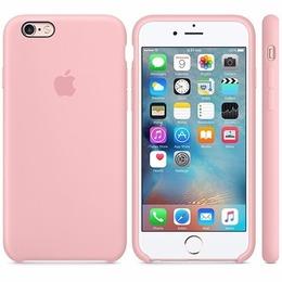 Case Silicone Rosa - IPhone Original