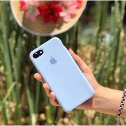 Case Silicone Azul Claro