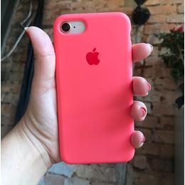 Case Silicone Rosa Neon